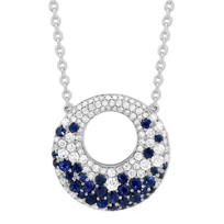 14K_White_Gold_Sapphire_and_Diamond_Circle_Necklace