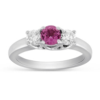 14K_White_Gold_Pink_Sapphire_and_Diamond_Ring
