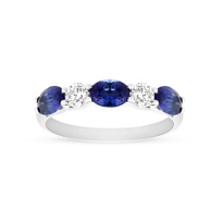 14K_White_Gold_Oval_Sapphire_and_Diamond_Alternating_Ring