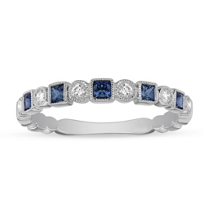14K_White_Gold_Princess_Cut_Sapphire_and_Diamond_Geometric_Ring