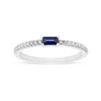14K_White_Gold_Baguette_Sapphire_&_Diamond_Ring
