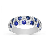 14K_White_Gold_Sapphire_and_Diamond_Bar_Ring