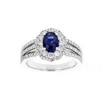 14k_white_gold_oval_sapphire_&_diamond_double_scalloped_halo_ring_with_3_row_shank