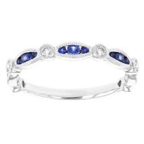 14k_white_gold_sapphire_&_diamond_milgrain_navette_&_round_station_ring