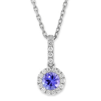 14K_White_Gold_Tanzanite_and_Diamond_Pendant