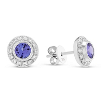 18K_Tanzanite_and_Diamond_Earrings
