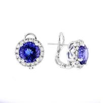 18k_white_gold_round_tanzanite_&_diamond_halo_earrings_with_omega_backs