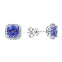 14k_white_gold_cushion_tanzanite_&_diamond_halo_post_earrings