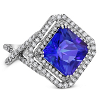 18K_White_Gold_Tanzanite_and_Diamond_Ring