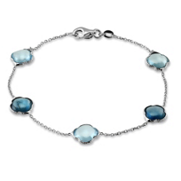 14K_White_Gold_Blue_Topaz_Bead_Bracelet