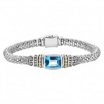 Lagos_Blue_Sterling_Silver_&_18K_Yellow_Gold_Blue_Topaz_Caviar_Bracelet