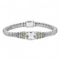 Lagos_Sterling_Silver_&_18K_Yellow_Gold_White_Topaz_Caviar_Bracelet
