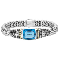 Lagos_Sterling_Silver_&_18K_Yellow_Gold_Caviar_Color_Blue_Topaz_Bracelet