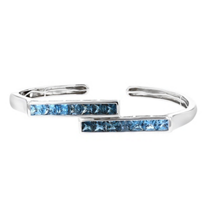14k_white_gold_princess_cut_blue_topaz_hinged_cuff_bracelet