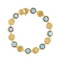 "marco_bicego_18k_yellow_gold_jaipur_blue_topaz_bracelet,_7"""