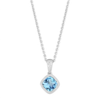 14K_White_Gold_Checkerboard_Blue_Topaz_Pendant