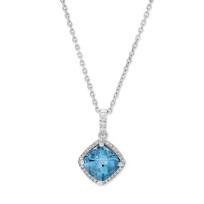 14K_White_Gold_Blue_Topaz_and_Diamond_Pendant