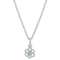 Sterling_Silver_Child's_Blue_Topaz_Flower_Pendant,_15""