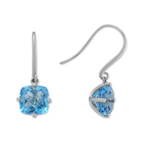 14K_White_Gold_Blue_Topaz_Dangle_Earrings