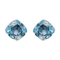 14K_White_Gold_Multi-Blue_Topaz_&_Diamond_Earrings,_0.04cttw