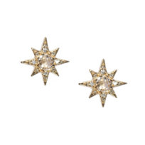 Anzie_14K_Yellow_Gold_Aztec_Starburst_Clear_Topaz_Mini_Stud_Earrings