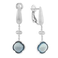 14K_White_Gold_Blue_Topaz_Drop_Earrings