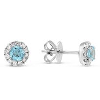 14K_White_Gold_Blue_Topaz_and_Diamond_Halo_Earrings