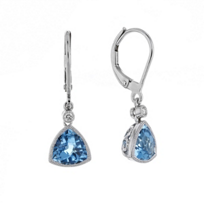 14k_white_gold_checkerboard_trillion_blue_topaz_&_diamond__milgrain_bezel_drop_earrings