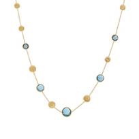 "marco_bicego_18k_yellow_gold_blue_topaz_jaipur_necklace,_16.5"""