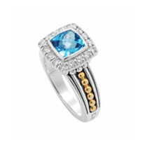 Lagos_Sterling_Silver_&_18K_Yellow_Gold_Prism_Small_Blue_Topaz_&_Diamond_Ring