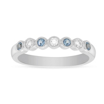 14K_White_Gold_Round_Blue_Topaz_and_Diamond_Bezel_Set_Milgrain_Ring