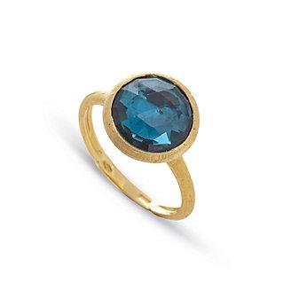 marco bicego 18k yellow gold blue topaz jaipur ring