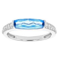 14k_white_gold_checkerboard_elongated_cushion_blue_topaz_&_diamond_shank_ring