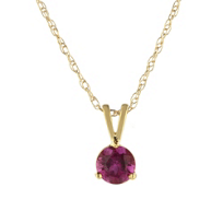 14K_Yellow_Gold_Pink_Tourmaline_Pendant,_5mm
