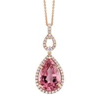 18K_Rose_Gold_Pink_Tourmaline_and_Round_Diamond_Halo_Pendant