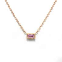 14K_Rose_Gold_Baguette_Pink_Tourmaline_Necklace