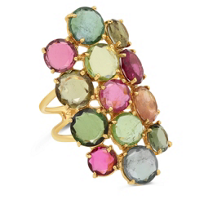 14K_Yellow_Gold_Multi-color_Tourmaline_Bezel_Set_Ring