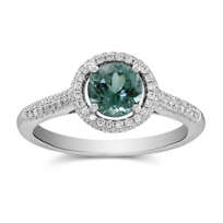 14K_White_Gold_Green_Tourmaline_and_Diamond_Halo_Ring