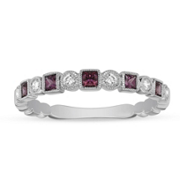 14K_White_Gold_Pink_Tourmaline_&_Diamond_Geometric_Ring