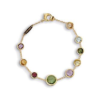 Marco Bicego 18K Yellow Gold Jaipur Multicolor Variety Bracelet