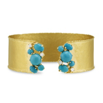 14K_Yellow_Gold_Turquoise_and_Diamond_Cuff_Bracelet