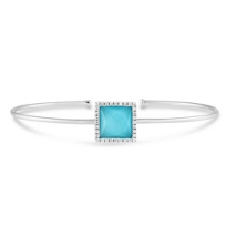 18K_White_Gold_Turquoise_and_White_Topaz_Doublet_Bracelet_With_Diamond_Accents