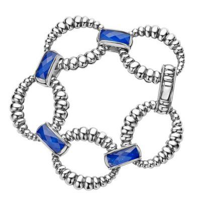 Lagos Maya Lapis Doublet Link Bracelet