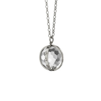 "Monica_Rich_Kosann_Sterling_Silver_and_Rock_Crystal_Large_""Carpe_Diem""_Necklace"