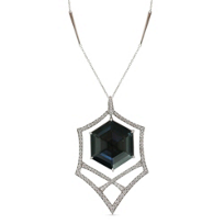 Stephen_Webster_18K_White_Gold_Hematite,_Crystal_Quartz_and_Diamond_Pendant