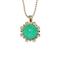 Anzie_14K_Yellow_Gold_Dew_Drop_Etoile_Chrysoprase_&_Diamond_Pendant