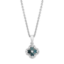 14K_White_Gold_Alexandrite_and_Round_Diamond_Flower_Pendant