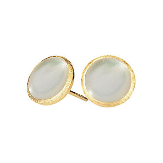 Marco Bicego 18K Yellow Gold Jaipur Mother of Pearl Earrings