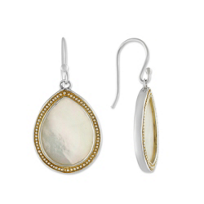 Sterling_Silver_&_Yellow_Tone_Mother_of_Pearl_Drop_Earrings