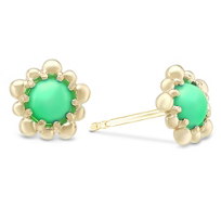 Anzie_14K_Yellow_Gold_Dew_Drop_Chrysoprase_Earrings